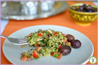 Gluten free, amaranth tabbouleh recipe