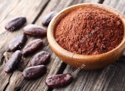 stock-photo-cacao-powder-with-cacao-beans-243438385